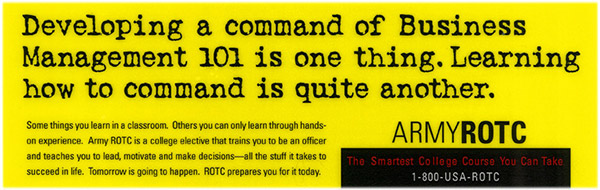 Army ROTC banner ad 6
