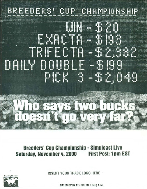 Breeders' Cup ad 4