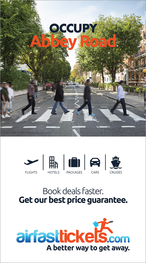AirFastTickets outdoor ad 1