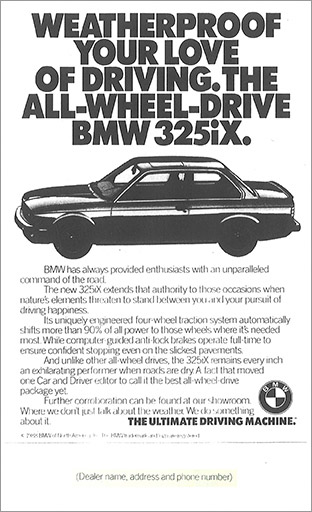 BMW retail ad 1