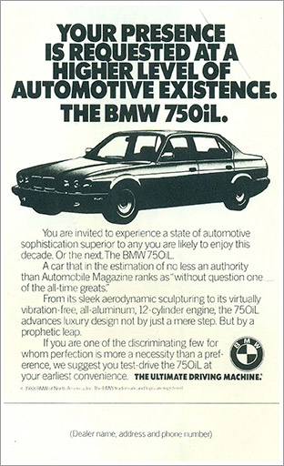 BMW retail ad 2
