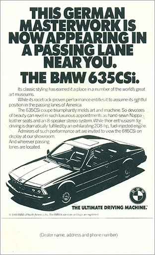 BMW retail ad 3